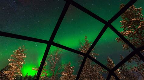 Stay In An Glass Igloo And Watch The Northern Lights