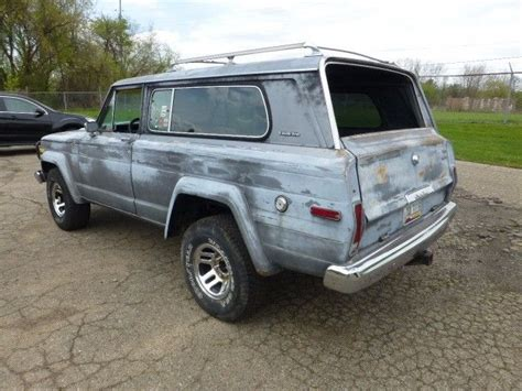 jeep cherokee chief  wide track  miles