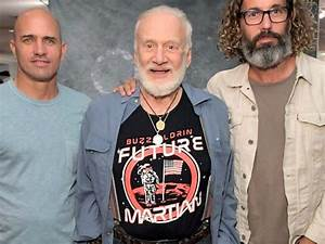 Buzz Aldrin Dons Shirt with Planted American Flag amid ...