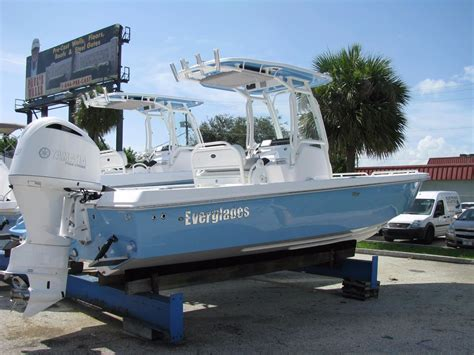 Everglades Boats Fort Lauderdale by 2017 Everglades 243 Cc Power Boat For Sale Www