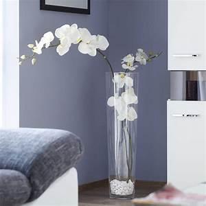 Vase Weiß Groß : vase mit orchidee wohnen pinterest vasen deko und dekoration ~ Indierocktalk.com Haus und Dekorationen