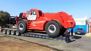 Worlds Largest Telehandler Lifting 40 tons by Manitou ...