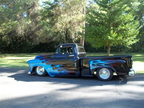Chevrolet Rods by 1955 Chevrolet 3100 Chop Top For Sale