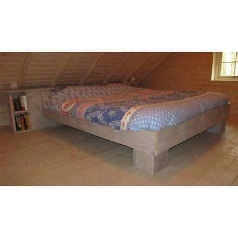 2 persoons bed steigerhouten bed