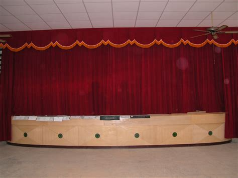 school stage curtains images