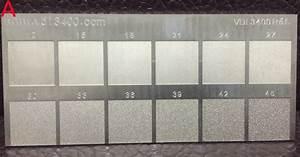 B2 Size Chart Vdi 3400 Mold Texturing Vdi Finish Edm Surface