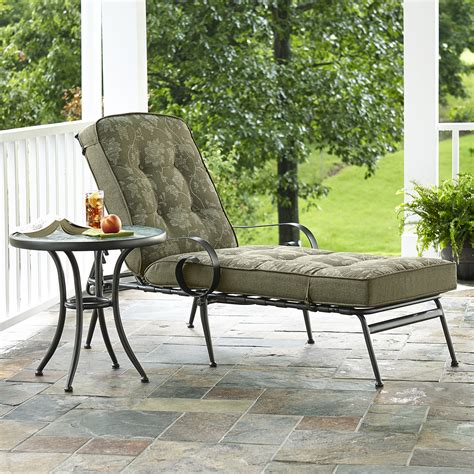 smith cora cushion chaise lounge green limited availability outdoor living patio
