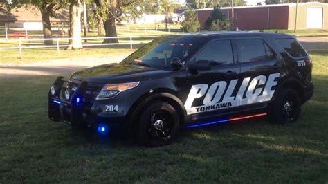 tonkawa police  ford interceptor utility feniex