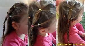 Coiffure Facile Pour Petite Fille : coiffure tresse pour petite fille ~ Nature-et-papiers.com Idées de Décoration