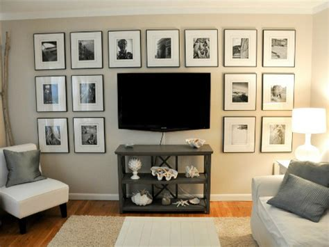 Decorating Ideas For Wall Mounted Tv by 40 Tv Wall Decor Ideas Decoholic
