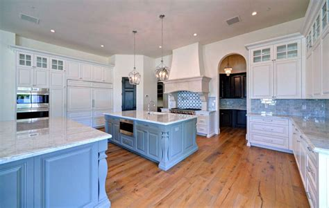 base cabinets for kitchen island 25 blue and white kitchens design ideas designing idea