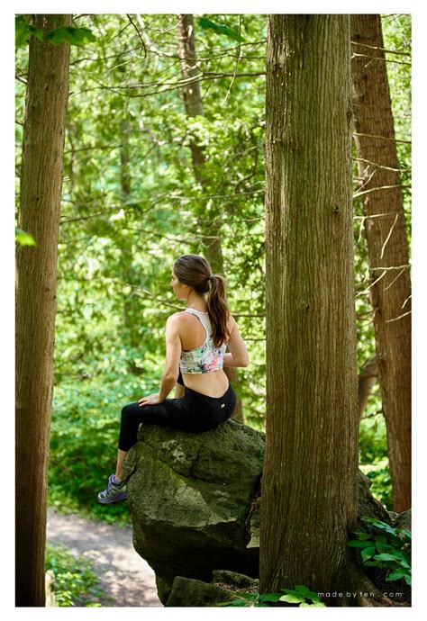 themed photoshoot inspiration outdoor fitness  hiking