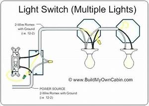 2 Lights One Switch Diagram 3 Way Switch Multiple Lights Power At Light This Is How Will Wire Lights Other In 2019 Light How To Run Two Lights From One Switch Electrical