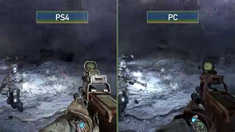 Metro 2033 Redux Pc Versus Ps4 Grafikvergleich Youtube
