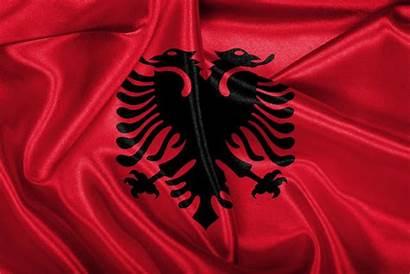 Albania Flag History Wind