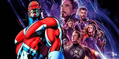 Captain Britain Avengers Mcu Endgame Braddock Future
