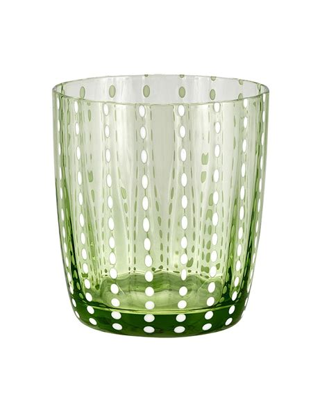 livellara bicchieri bicchiere tumbler carnival light green livellara 720ls0913