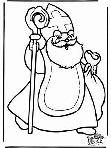 Sankt Nikolaus 2 Ausmalbilder Sankt Nikolaus