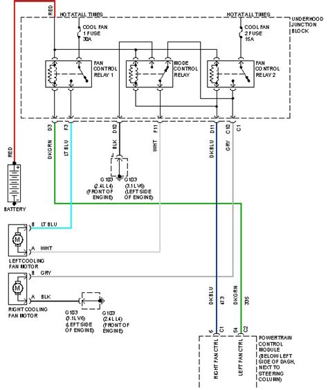 2011 Chevy Silverado Cooling Fan Wiring Diagram by 99 Chevy Malibu Cooling Fans 3 1l Engine Replaced