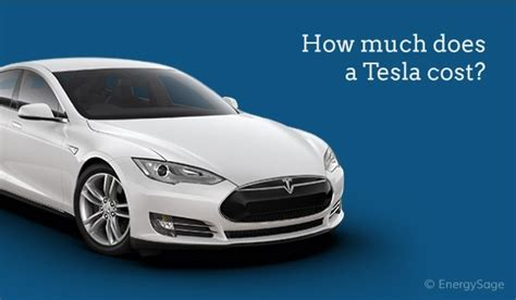 tesla cost   updated prices