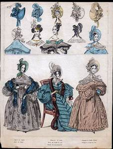 U0026quot The Beau Monde U0026quot  Hand Colored Fashion Engravings