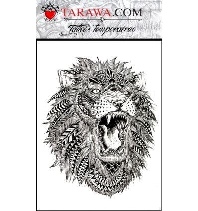 tatouage lion mandala tarawa piercing