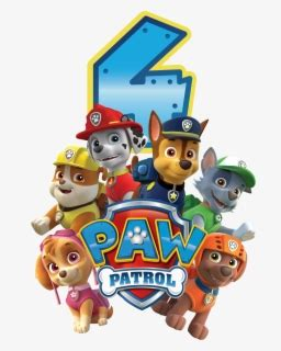 paw patrol clipart dog television show characters kids