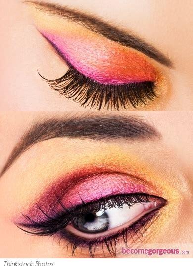 pictures eye makeup ideas gold  pink eye makeup