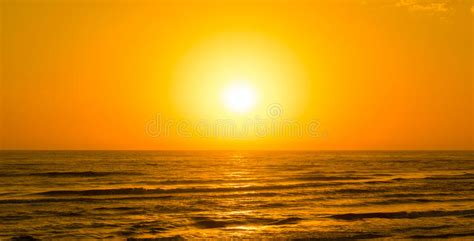 Bright yellow sun, sunrise stock image. Image of colorful ...