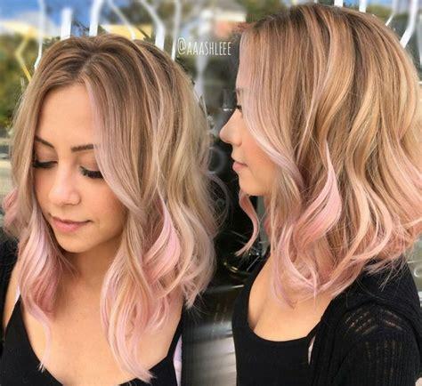 Charlottegrac3 Hair Peek A Boo In 2019 Hair Pink