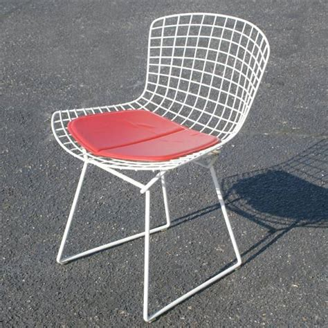 knoll style bertoia side chair seat cushion ebay