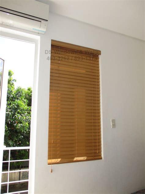 correct window depth   mounted wood blinds