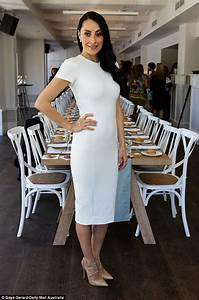 Terry Biviano wows in her favourite hue for the third time ...
