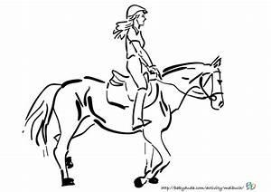 Ausmalbilder Pferd Und Reiter Zum Ausdrucken Kostenlos