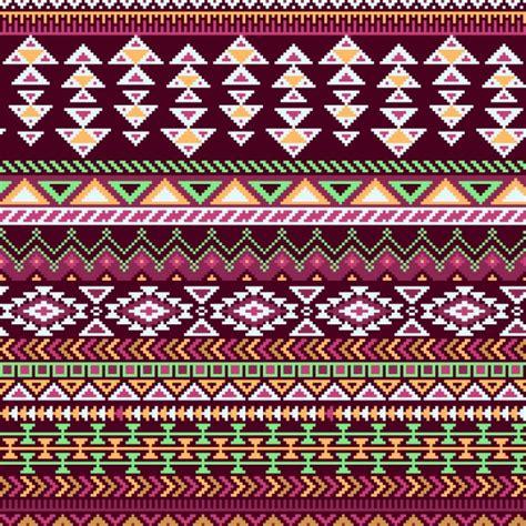 aztec colors geometric pattern aztec background vector free