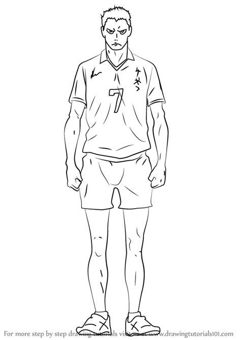 learn   draw takanobu aone  haikyuu haikyuu step  step drawing tutorials