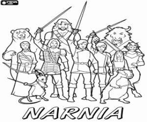 ausmalbilder die chroniken von narnia malvorlagen