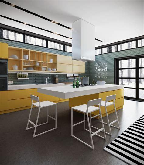 modern design kitchens ideas y dise 241 o de cocinas modernas construye hogar 4196