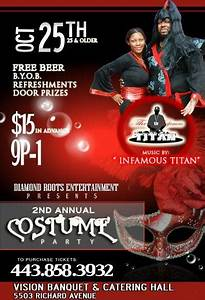 Second Annual Costume Party 10-25-13 » What To Do In ...