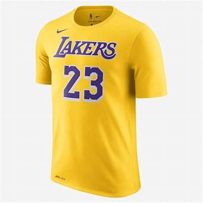 Yellow Nike Shirt Lakers Lebron James Sold