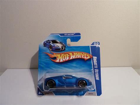 Hotwheels Bugatti Veyron 2010/158 On Short Card. Satin