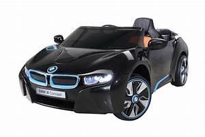 Voiture Electrique Enfant : 12 volts bmw i8 luxe voiture electrique pour enfant noire ~ Nature-et-papiers.com Idées de Décoration