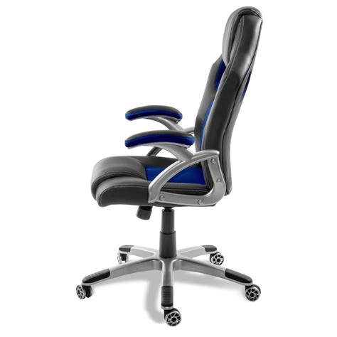 chaise de bureau gaming chaise de bureau racing gaming bleu ou gris