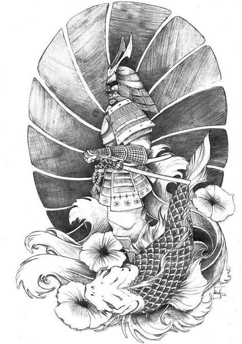 Pin by 問塵 on 日式 | Samurai tattoo, Samurai tattoo design