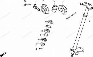 Honda Atv 1997 Oem Parts Diagram For Steering Shaft