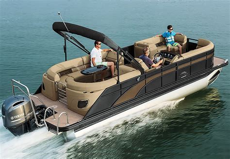 Bennington Pontoon Boat In Rough Water by Pontoon Boats Related Keywords Pontoon Boats Long Tail