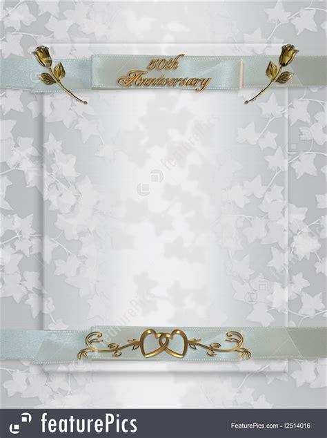 wedding anniversary invitation illustration
