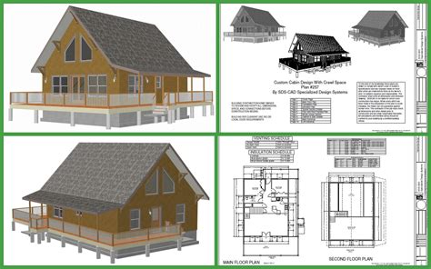 cabin blueprints cabin plans and designs