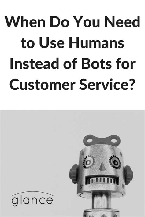 When Do You Need to Use Humans Instead of Bots for