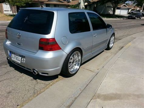 how make cars 2001 volkswagen golf regenerative braking buy used 2001 vw golf gti glx vr6 r32 euro bumpers in palmdale california united states for